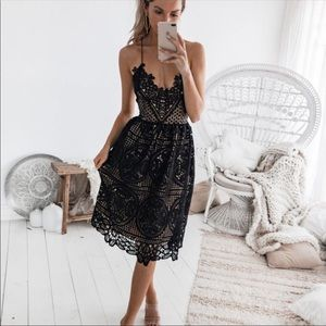 💃🏻Audrey Black Lace Dress